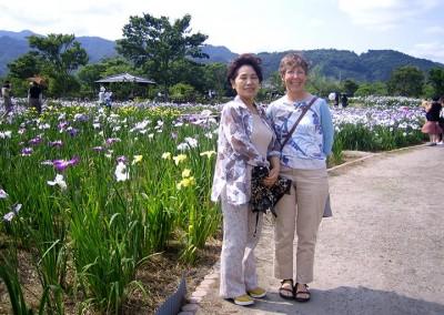 2007 Irises with Akiko