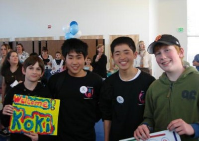 2007 Japanese Students in-Sebastopol