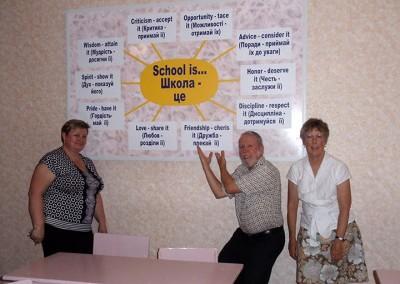 2011 Chyhyryn School Principal