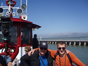 First Open World Delegates from the Ukraine touring the San Francisco Bay
