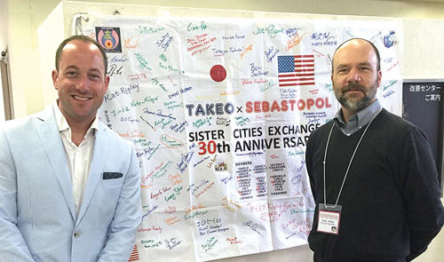 Sebastopol World Friends return from Takeo City with presence