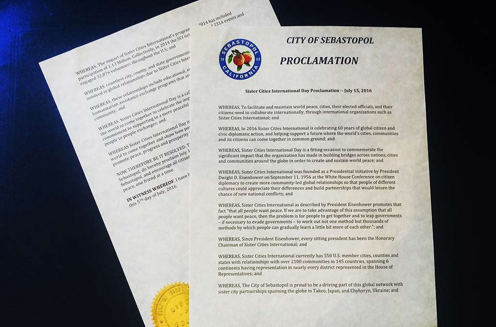 Happy Sister Cities International Day, everyone!