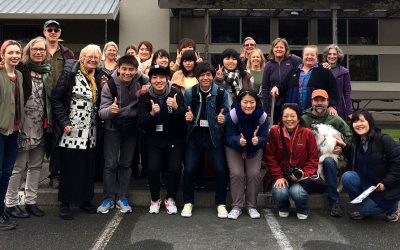 Welcome to Sonoma County, Kagoshima University students!