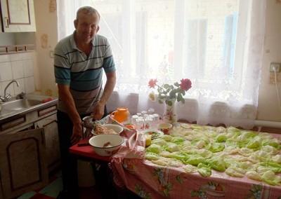 2011 Chyhyryn cabbage rolls
