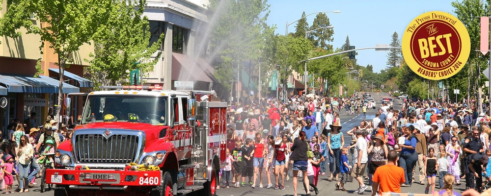 The 70th Annual Sebastopol Apple Blossom Parade