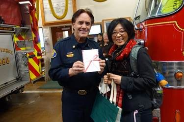 Sebastopol's Sister City Raises Money for the City's Firefighting Efforts