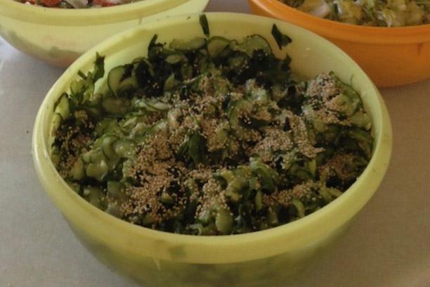 "Japanese Cucumber ""Sunomono"" Salad Recipe"